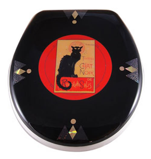 Chat Noir Toilet Seat Elongated Free Shipping Today